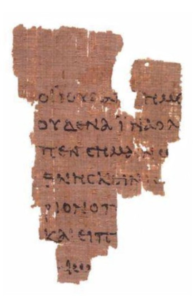 The P52 Fragment (Recto Side)