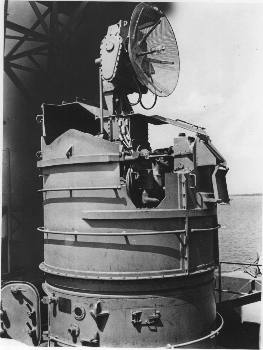 One of USS Texas early gun directors.