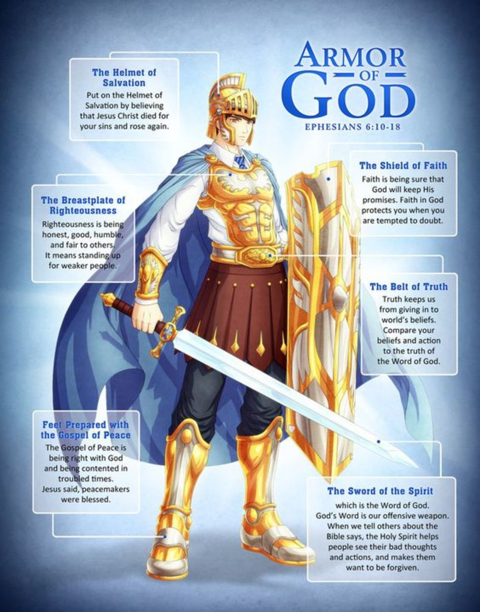 The Whole Armor Of God Owlcation
