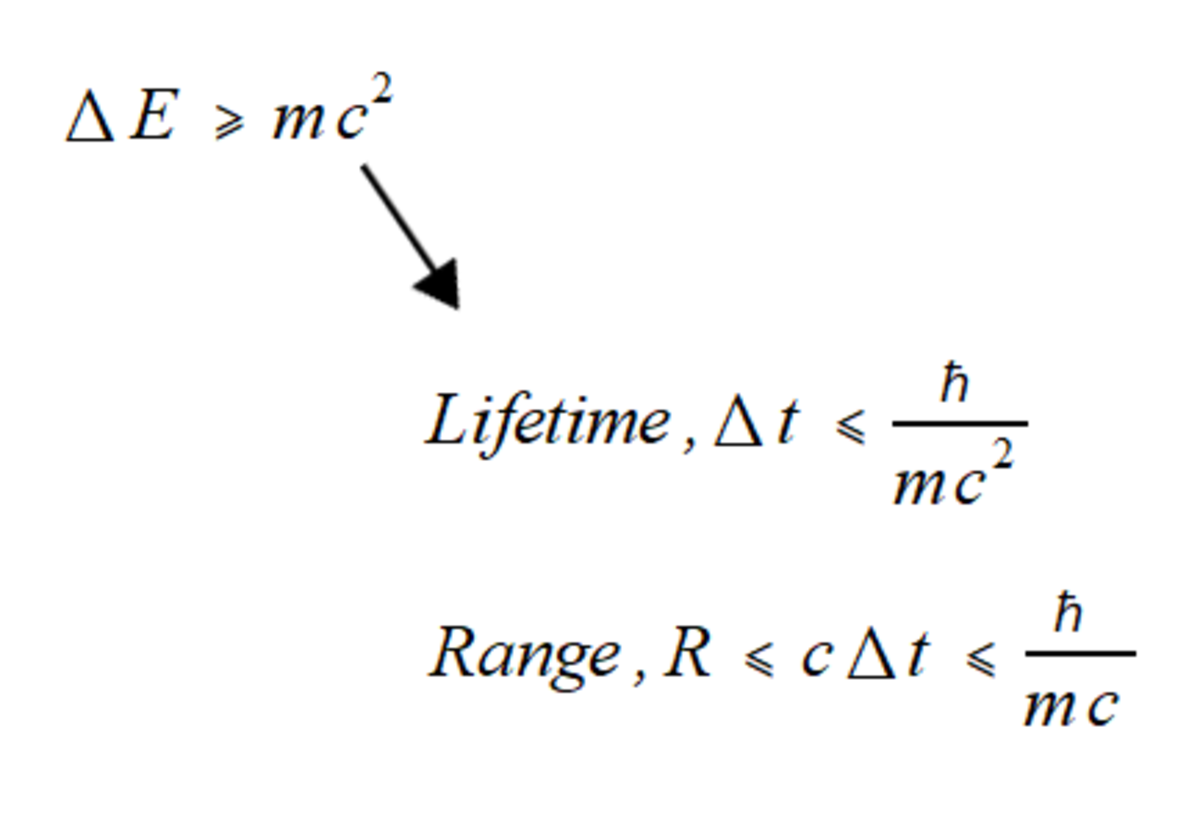 The maximum range is estimated by assuming the force carrier moves at the speed of light.