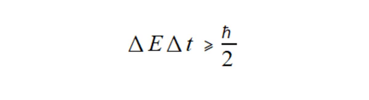 Heisenberg's uncertainty principle, a cornerstone of quantum mechanics, that relates the uncertainty in energy with the uncertainty in time.