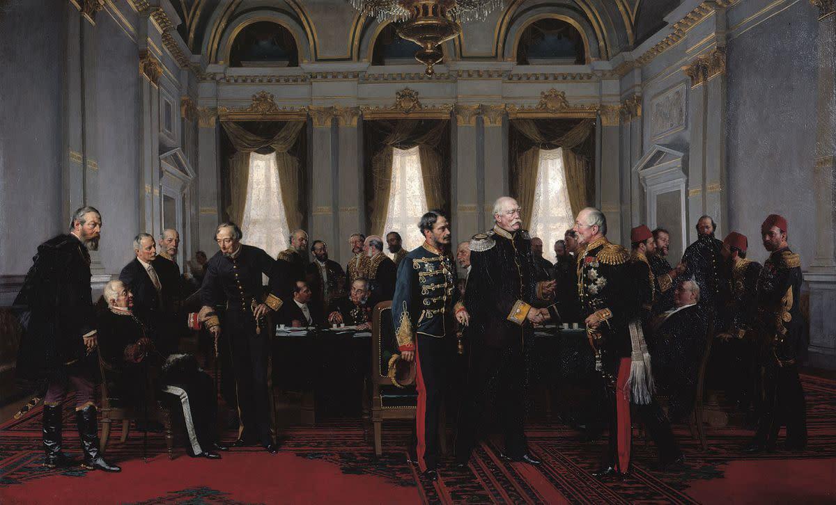 The Congress of Berlin-1878