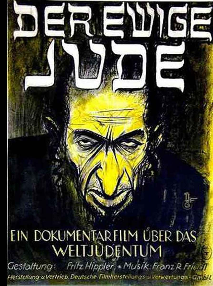 "Released in 1940, ""The Eternal Jew"" is an anti-Semitic Nazi propaganda film billed as a documentary film. Joseph Goebbels oversaw the production of the film, while Fritz Hippler directed."