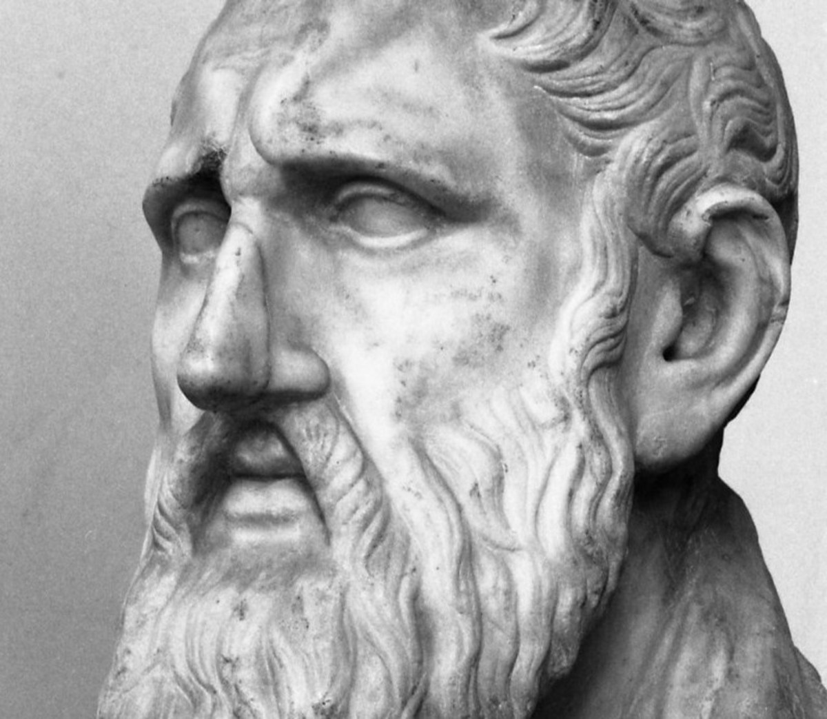To the Stoics, The Word was an impersonal force that ordered and enervated the universe