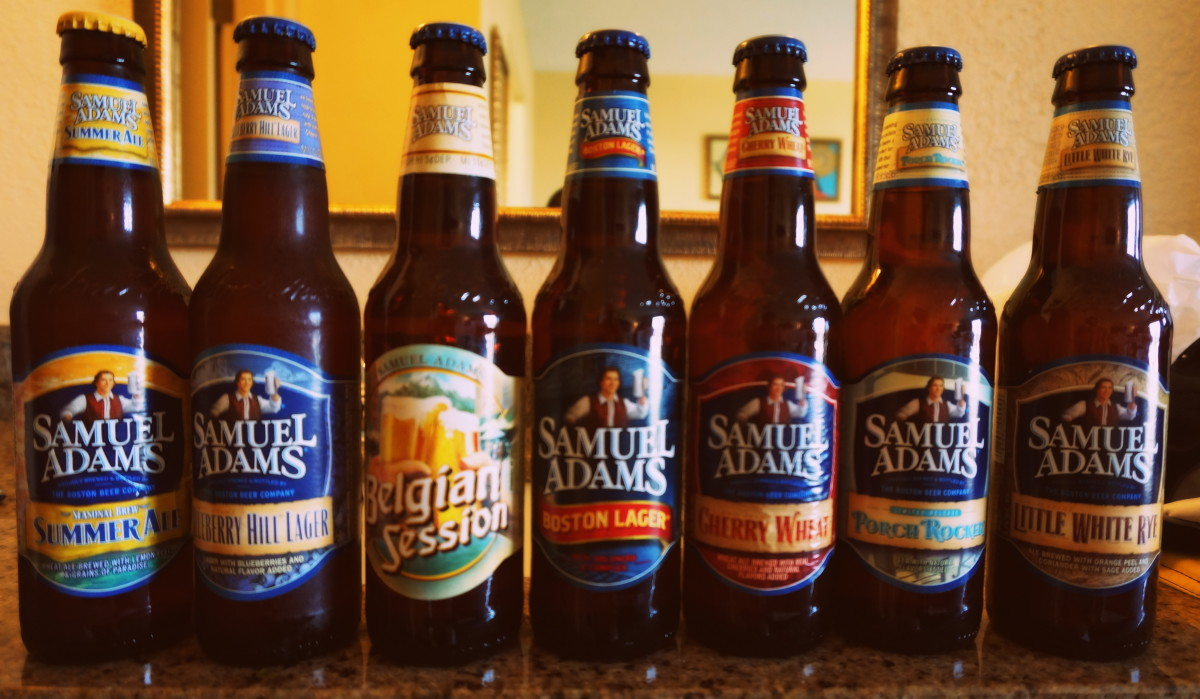 Today, Samuel Adams gets his name on many different types of beer