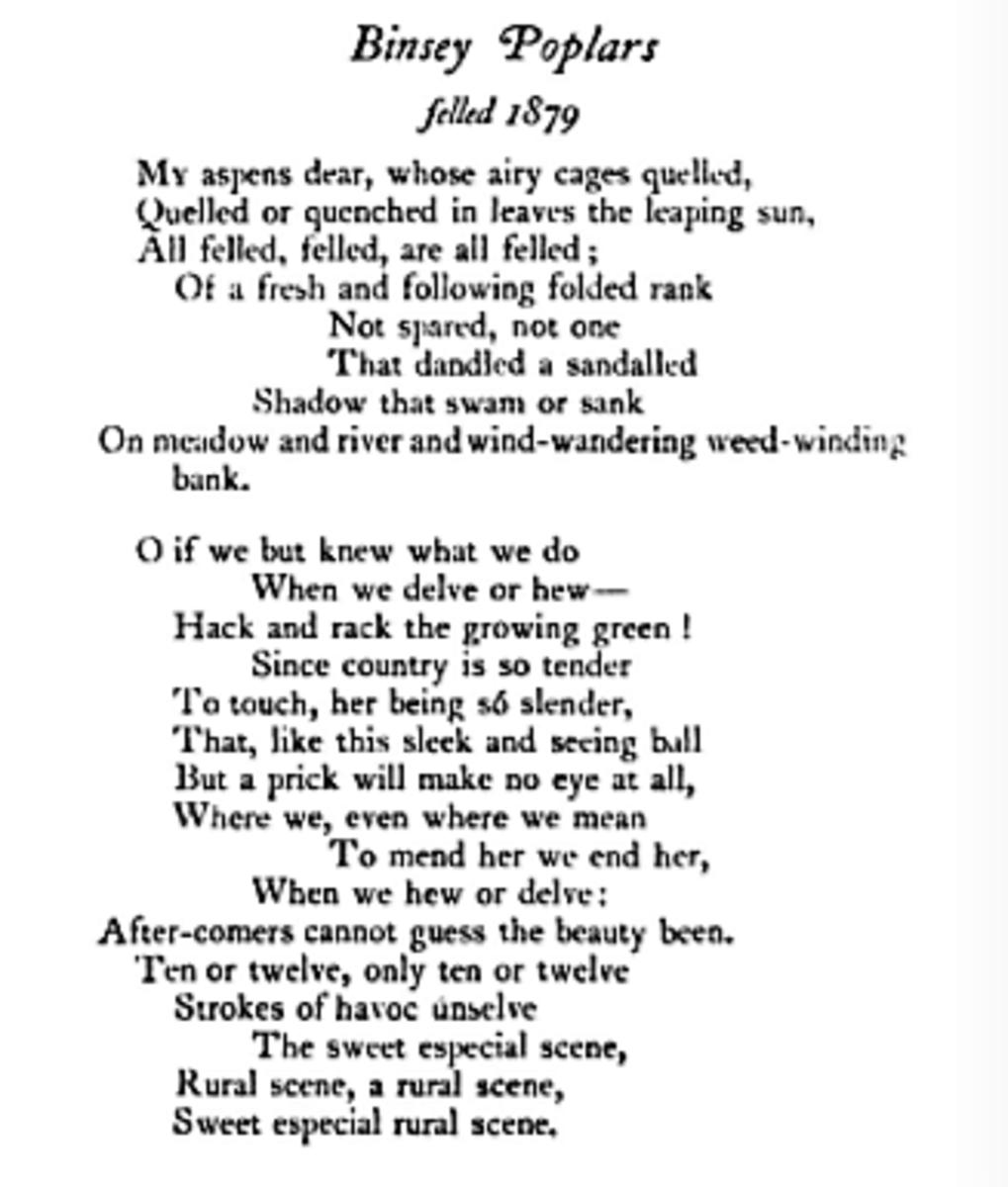 analysis-of-poem-binsey-poplars-by-gerard-manley-hopkins