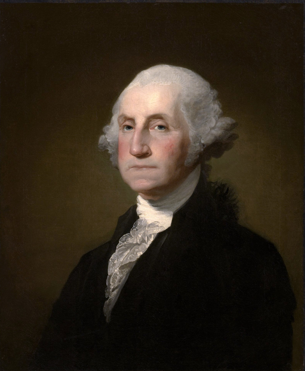 #1 George Washington