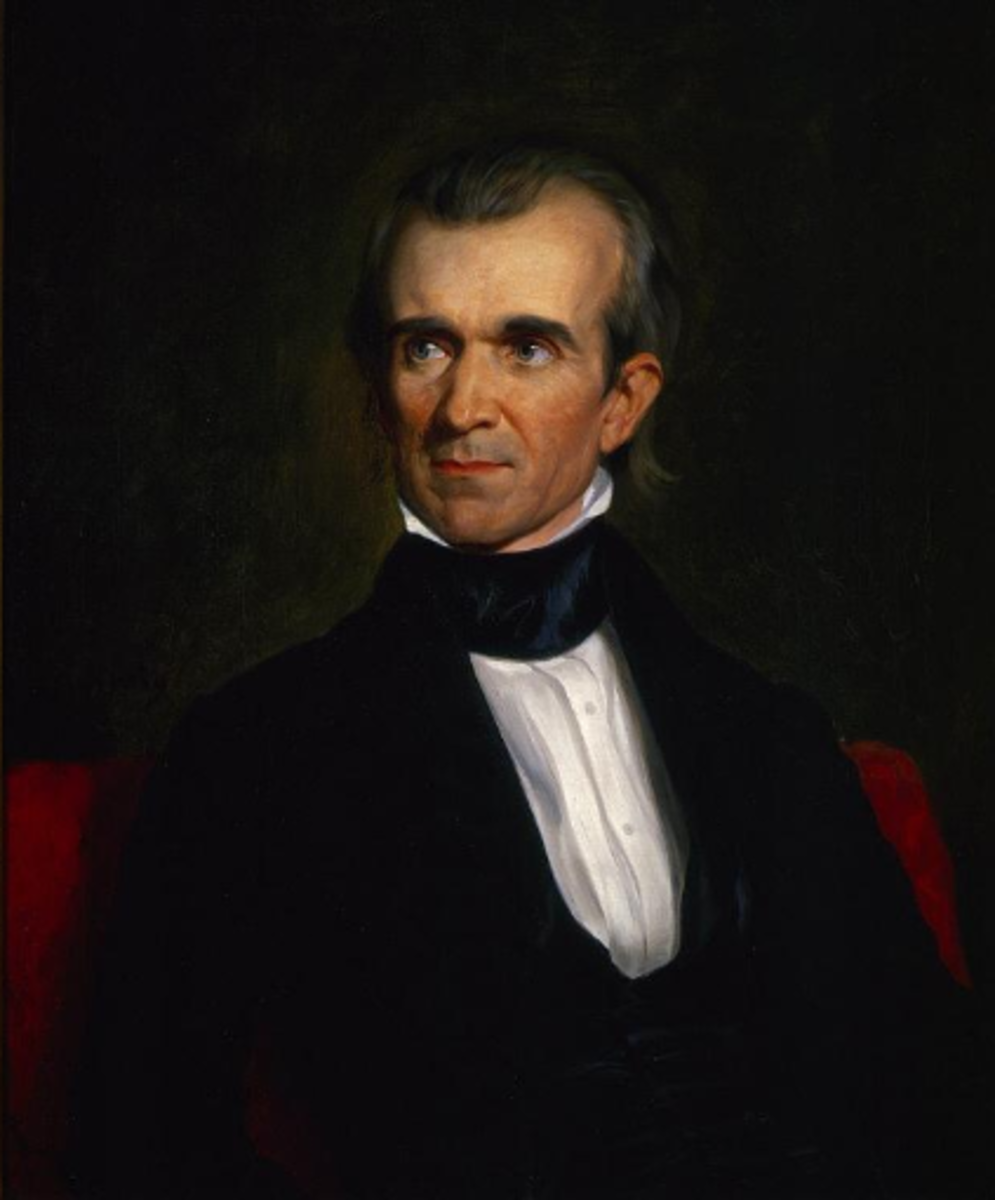 #11 James Knox Polk