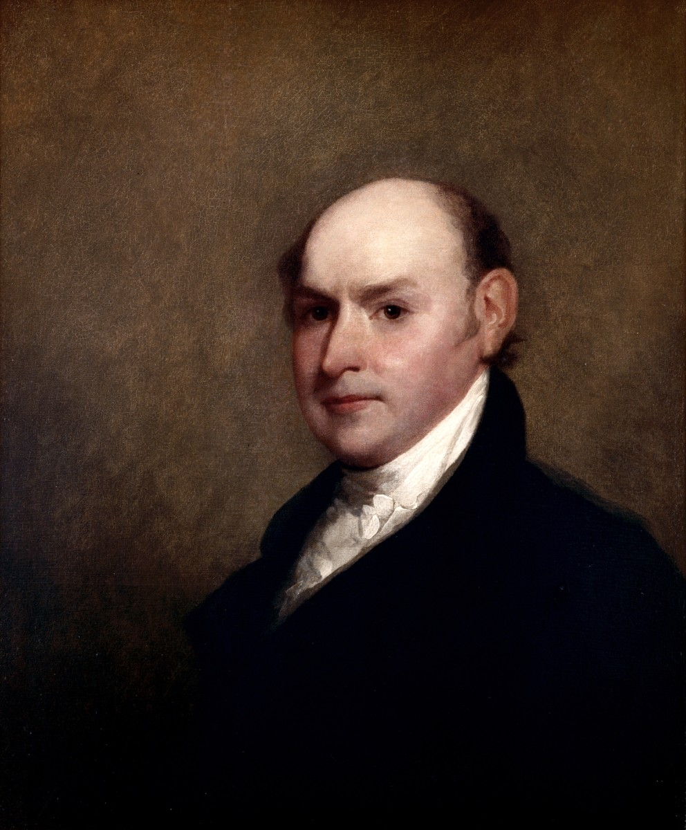 John Quincy Adams was our sixth president. Although he was actually an excellent president, he was not very popular.