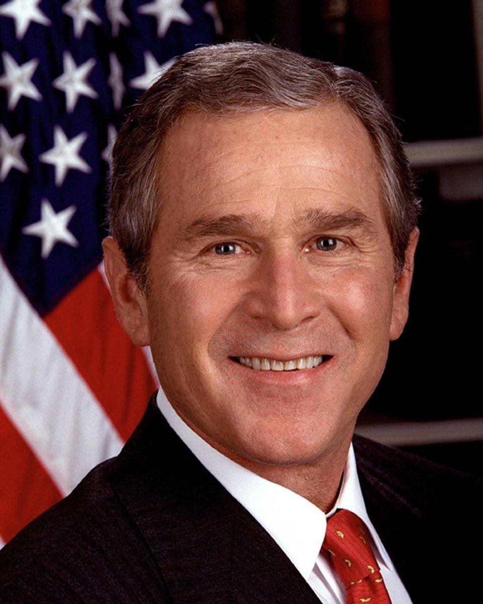 #43. George W. Bush