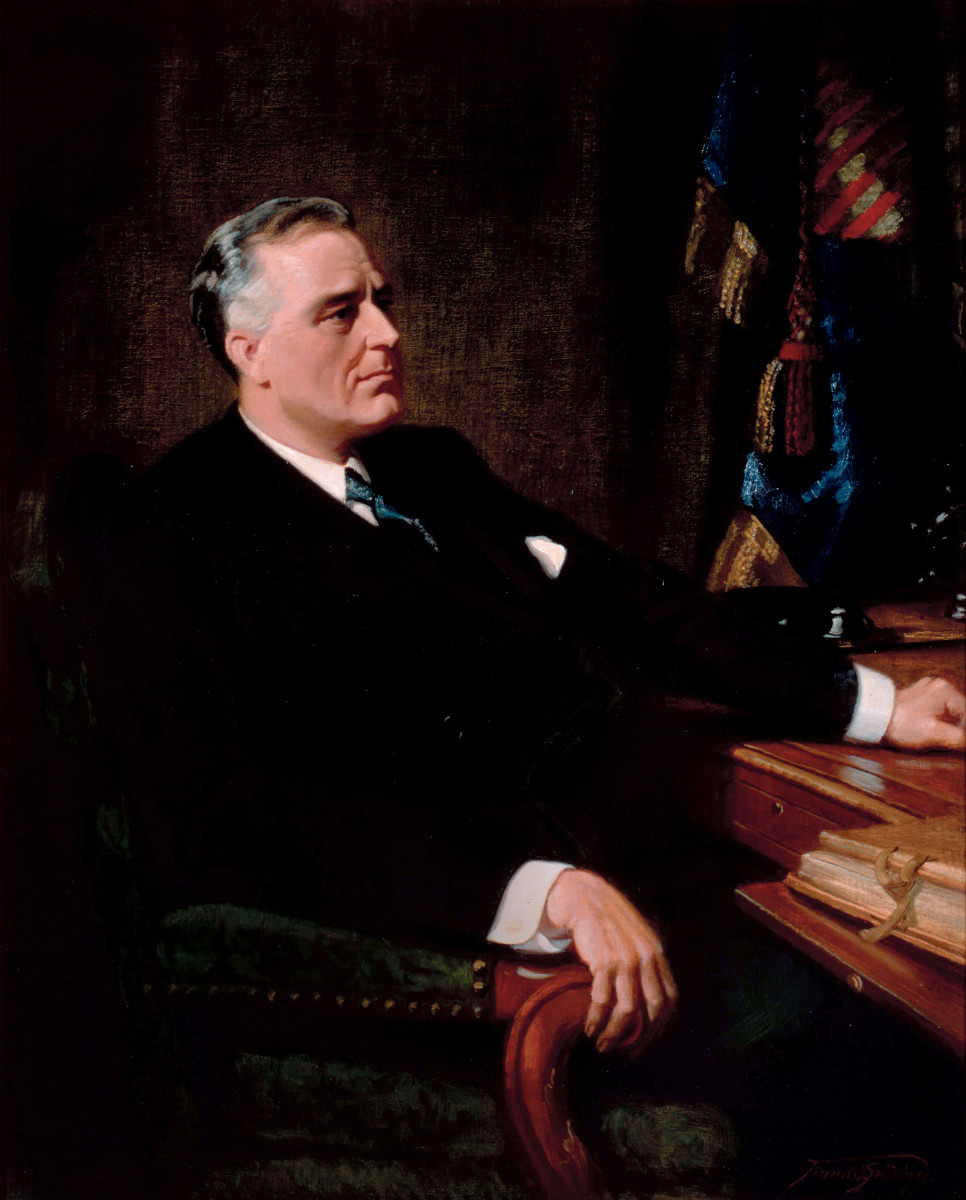 #32 Franklin Roosevelt