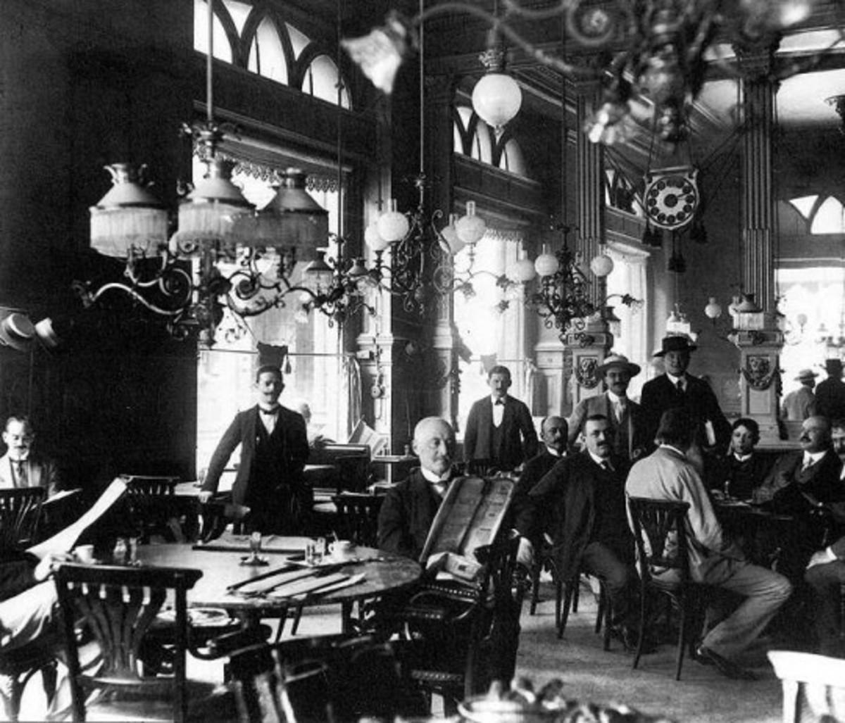 Centrál in the 1920s.