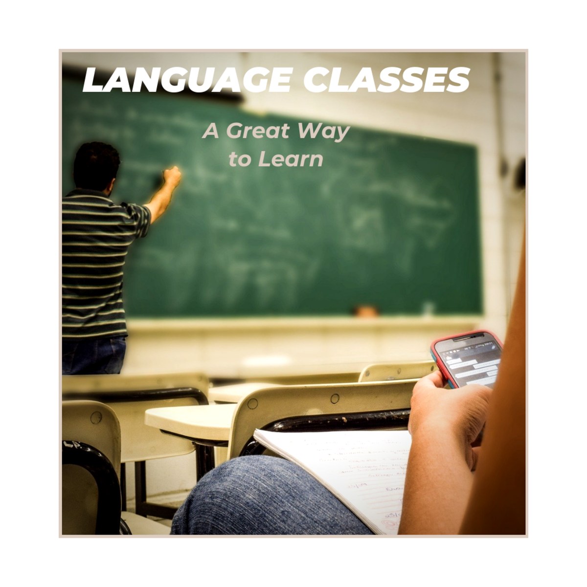 Some people prefer attending a class to learn a new language.