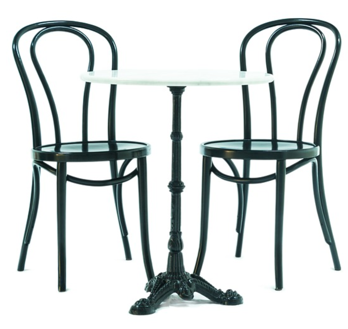 Michael Thonet's bentwood furniture design - Features wood bent into stylish shapes using boiling liquids or steam.