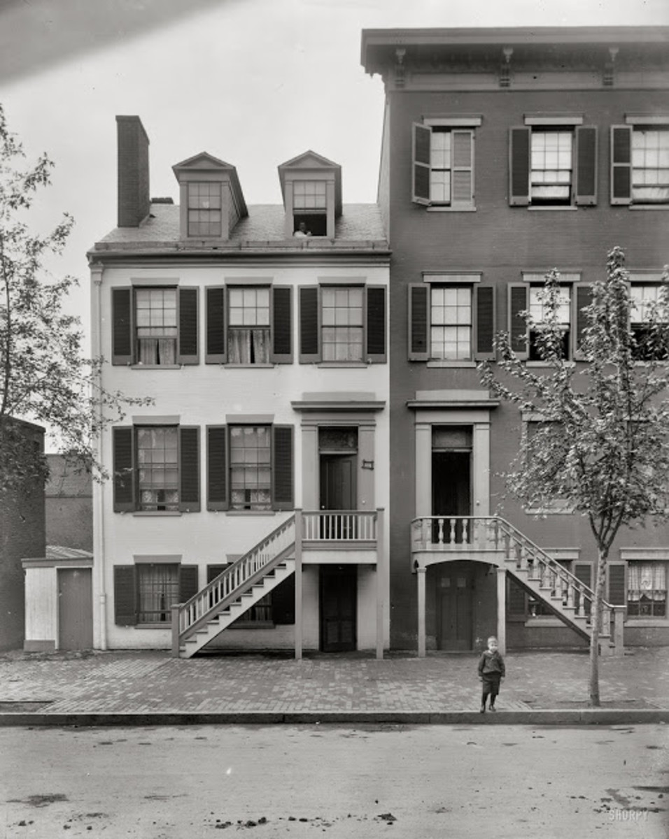 Mary Surratt's boardinghouse at 541 H Street, Washington, D.C.