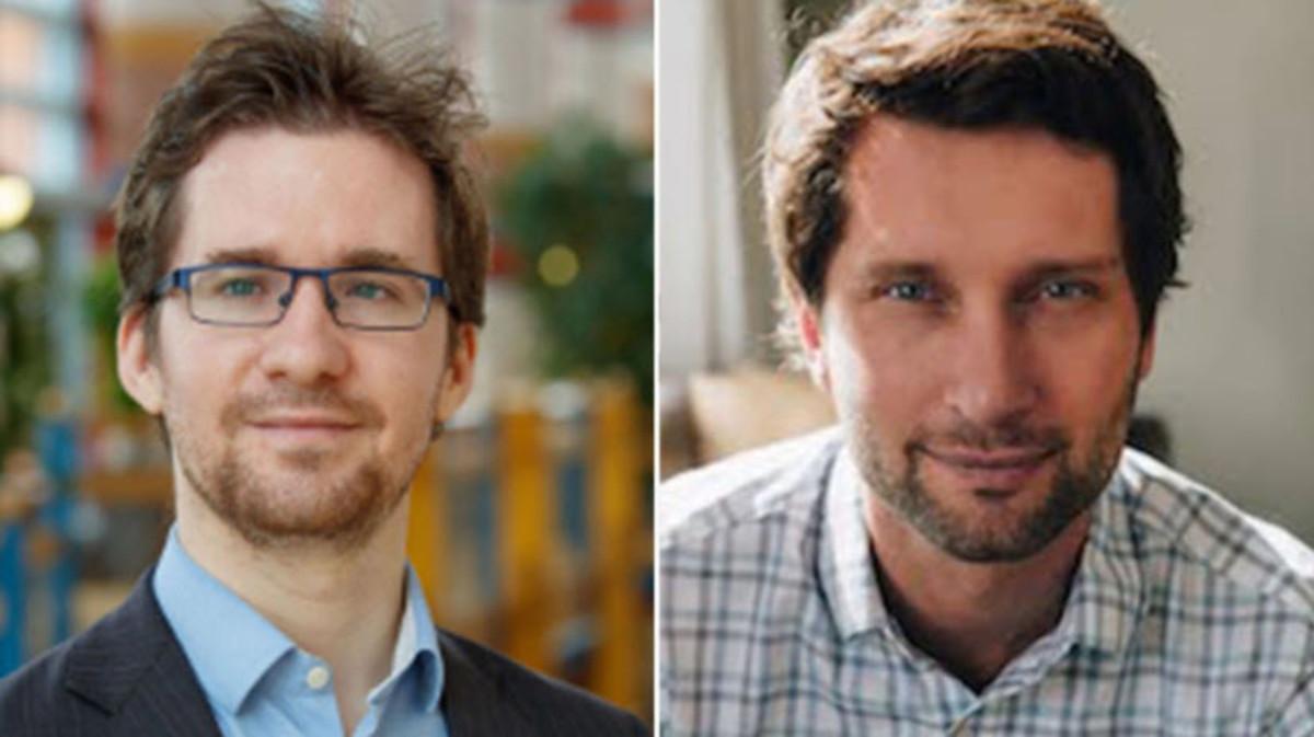 David Stillwell (left), Michael Kosinski (right)
