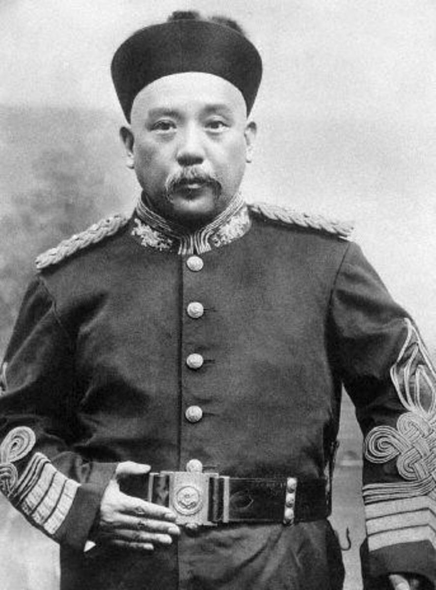 Yuan Shikai : an example of military men becoming involved in politics, much to the chagrin of all.