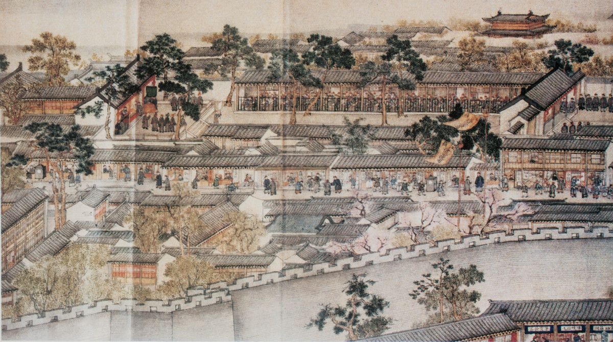 Examination halls like these, and not vast landholdings, were the basis of power of the Chinese aristocratic elite. Not a European based system of power.