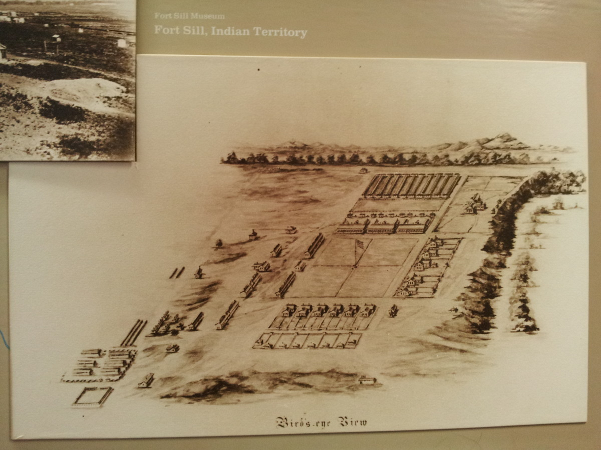 Map of Ft. Sill