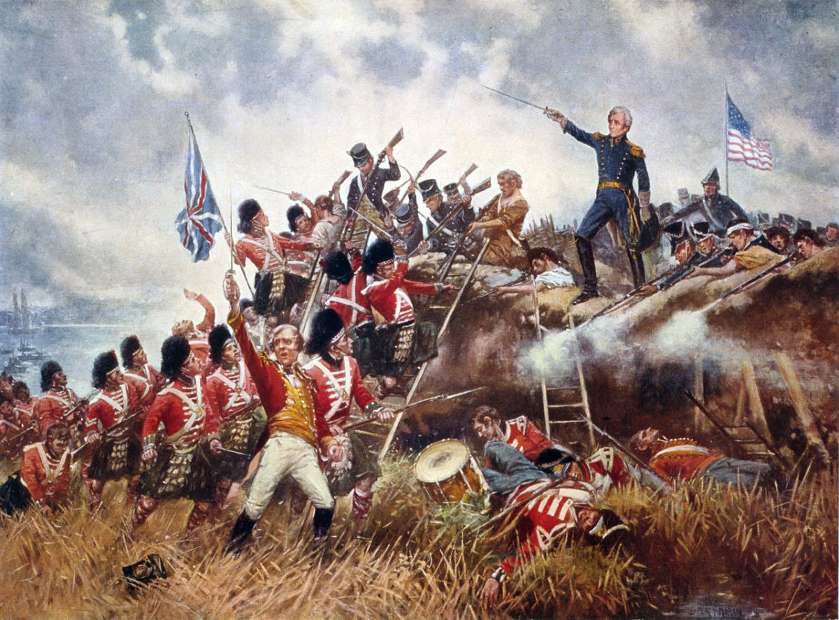 General Jackson in the battle of New Orleans.