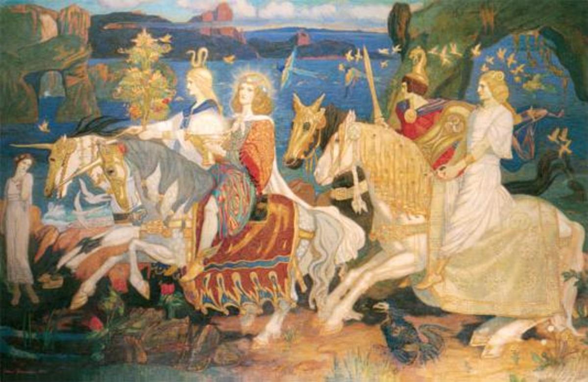 Riders of the Sidhe - John Duncan