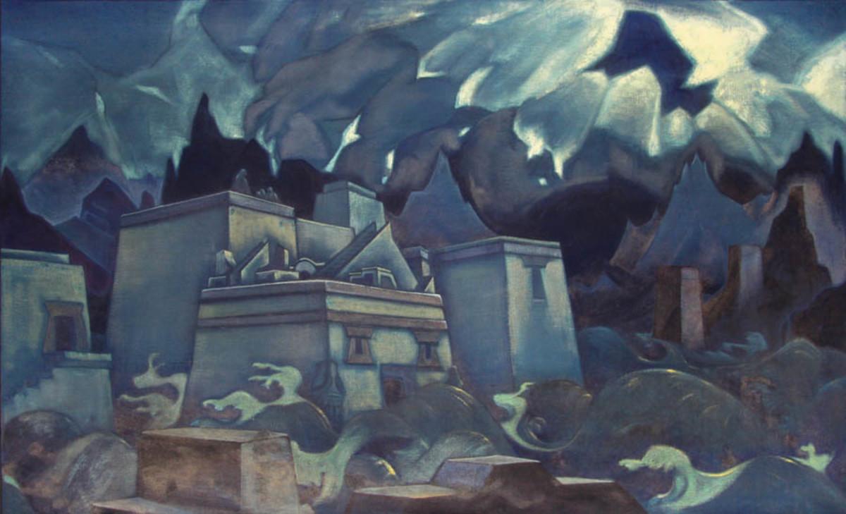 Gibel Atlantidy (The Fall of Atlantis) - N. Roerich