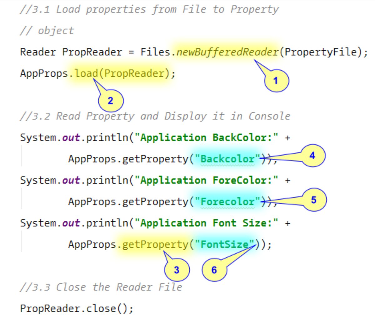 Reading Java Properties From Text File