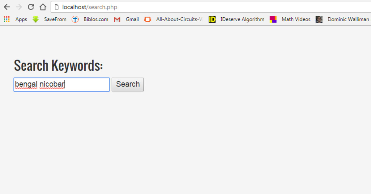 Search for keywords ''bengal' and 'nicobar'