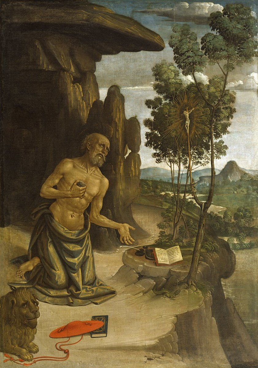 Jerome's time as a monk in the desert was troubled by a renewed Arian schism and conflict among presbyters at Antioch which embroiled the whole East