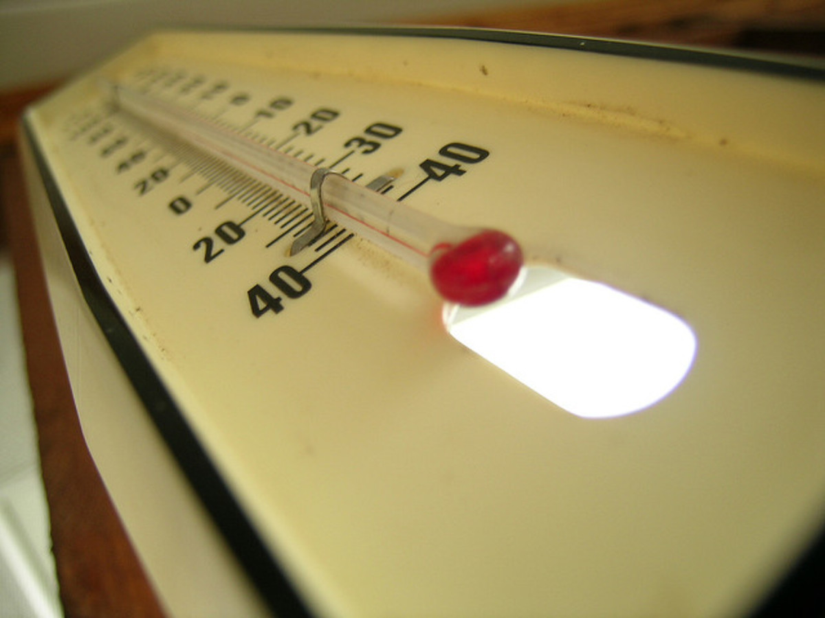 Temperature is one external factor that can affect test scores and ability to concentrate.