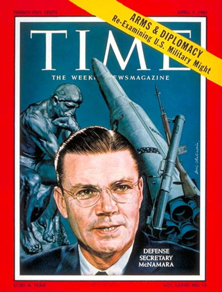 Sec. McNamara on the Cover of TIME Magazine