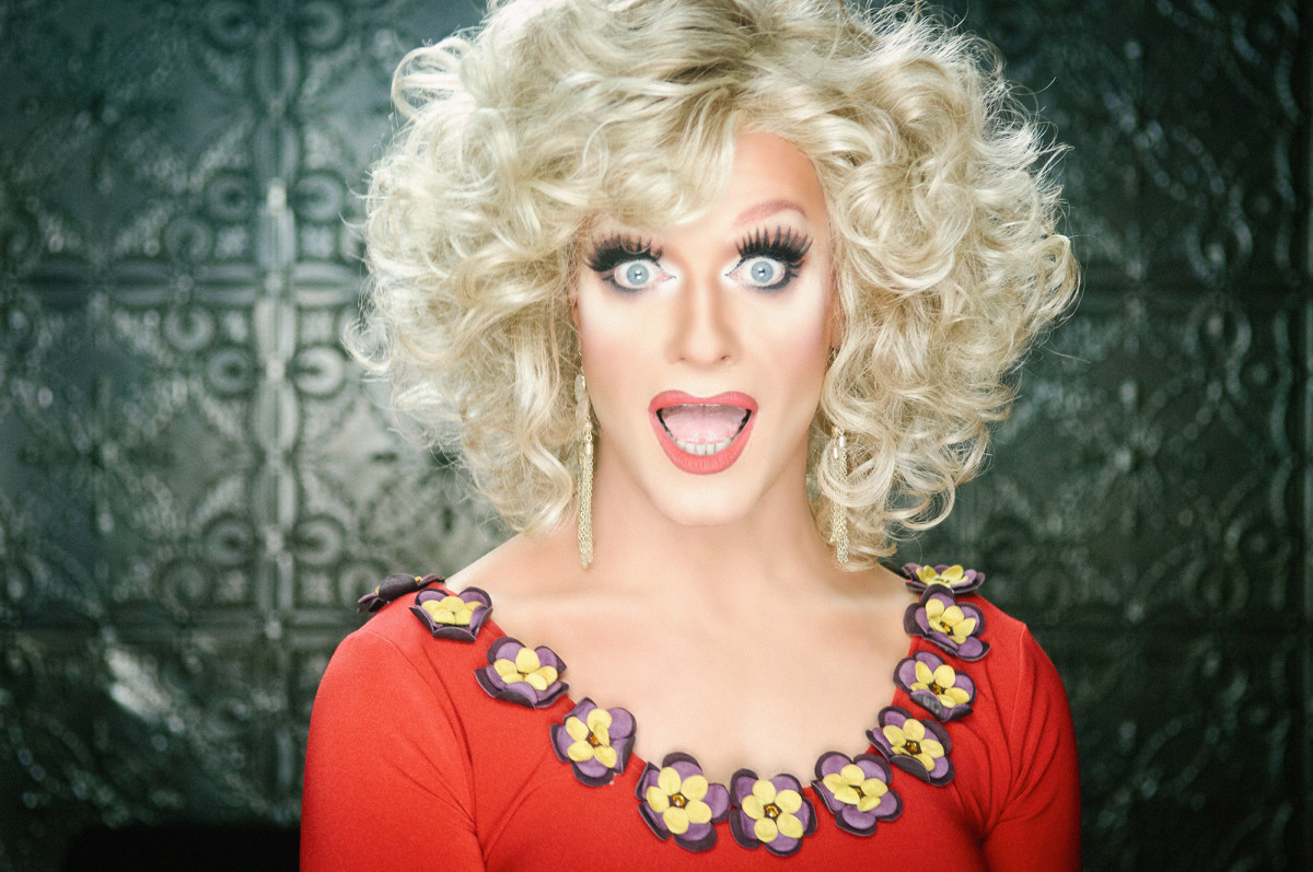 Panti Bliss, aka Rory O'Niell. Drag queens are an example of gender performativity.