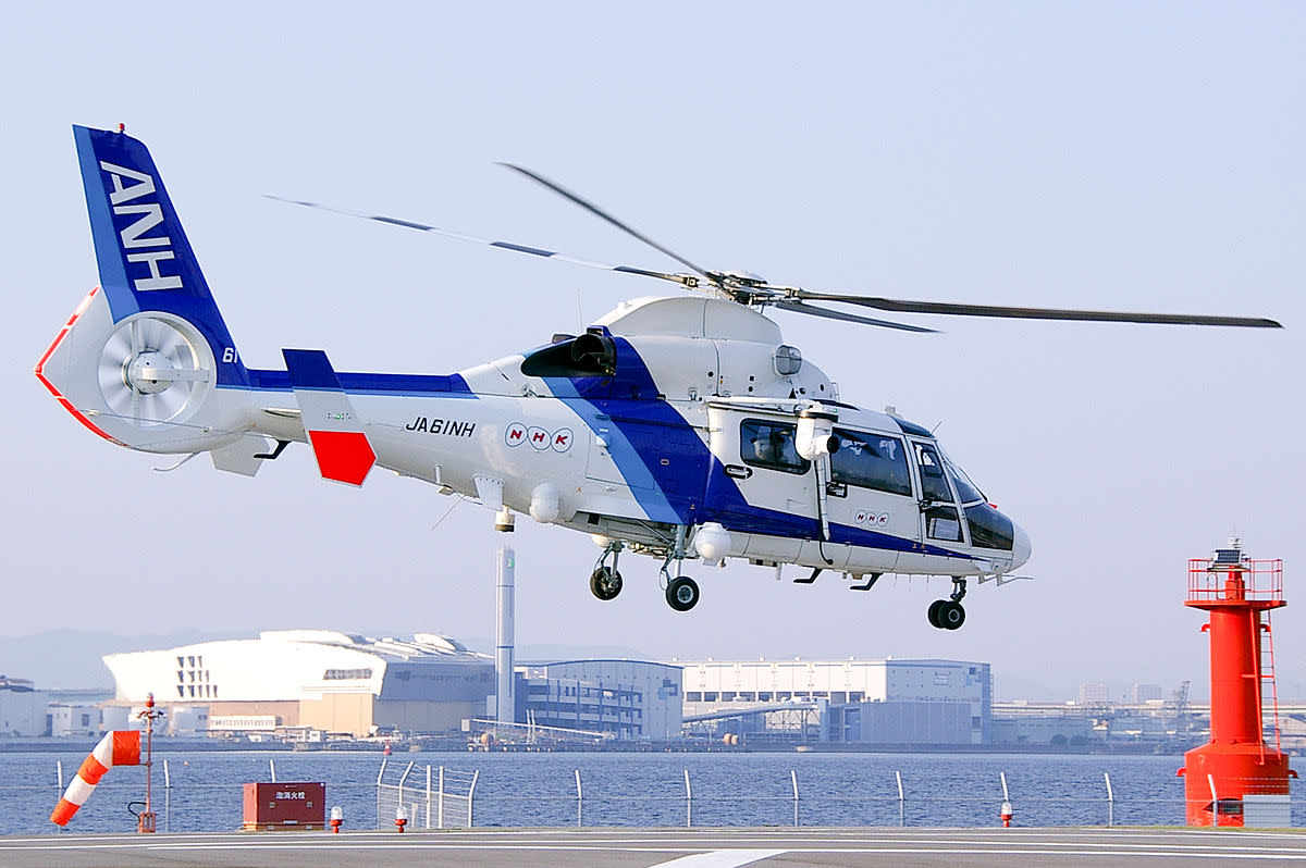 All Nippon Helicopter's Eurocopter AS365N2