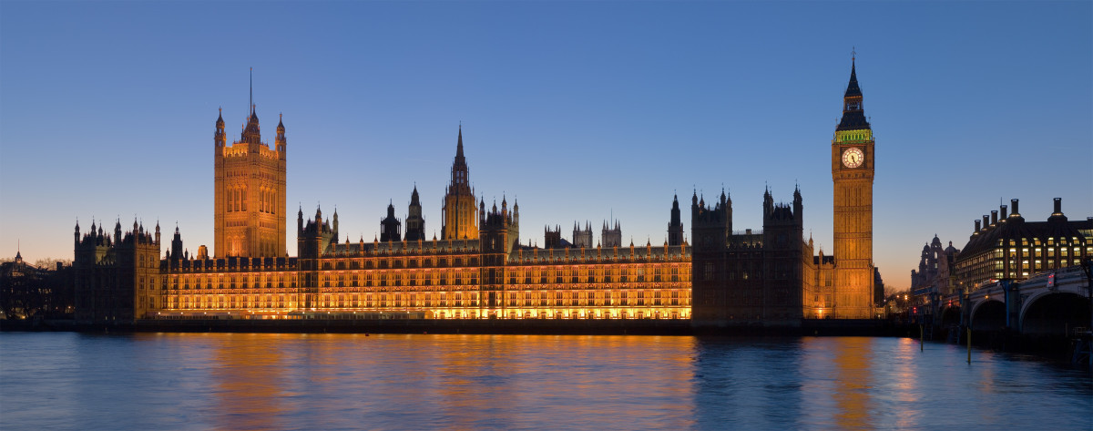 The Palace of Westminster, or the Houses of Parliament if you like