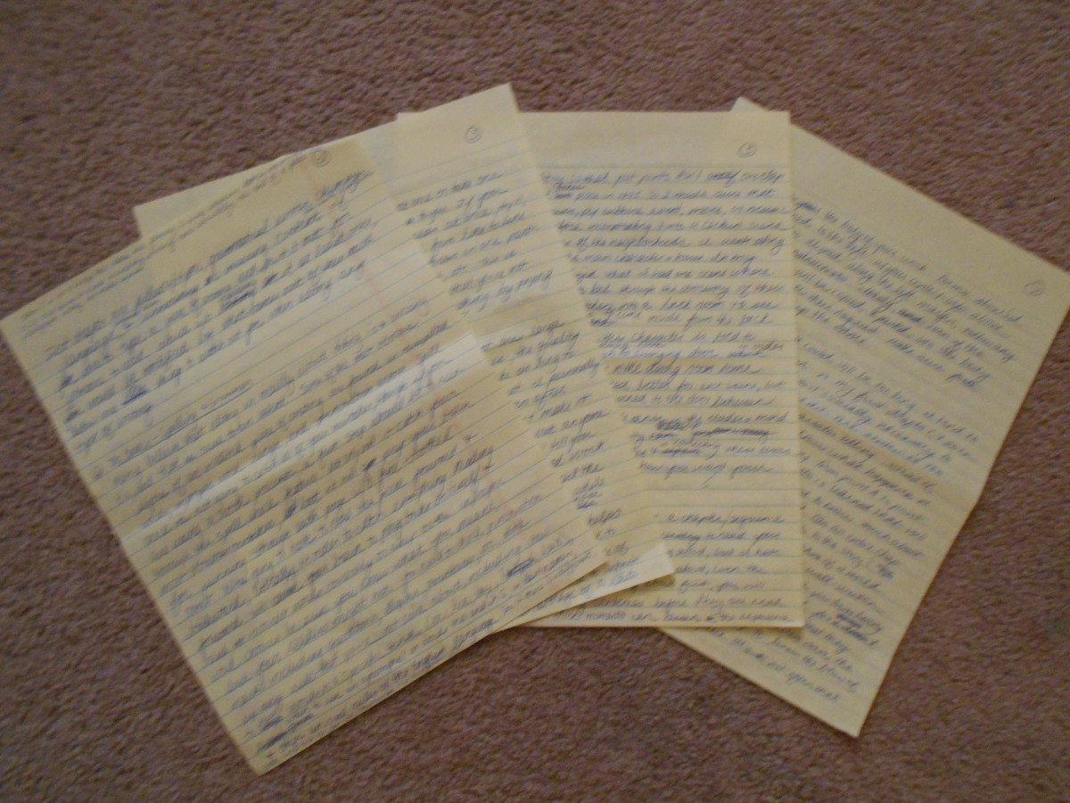 The first draft of what would become this three-part article series.