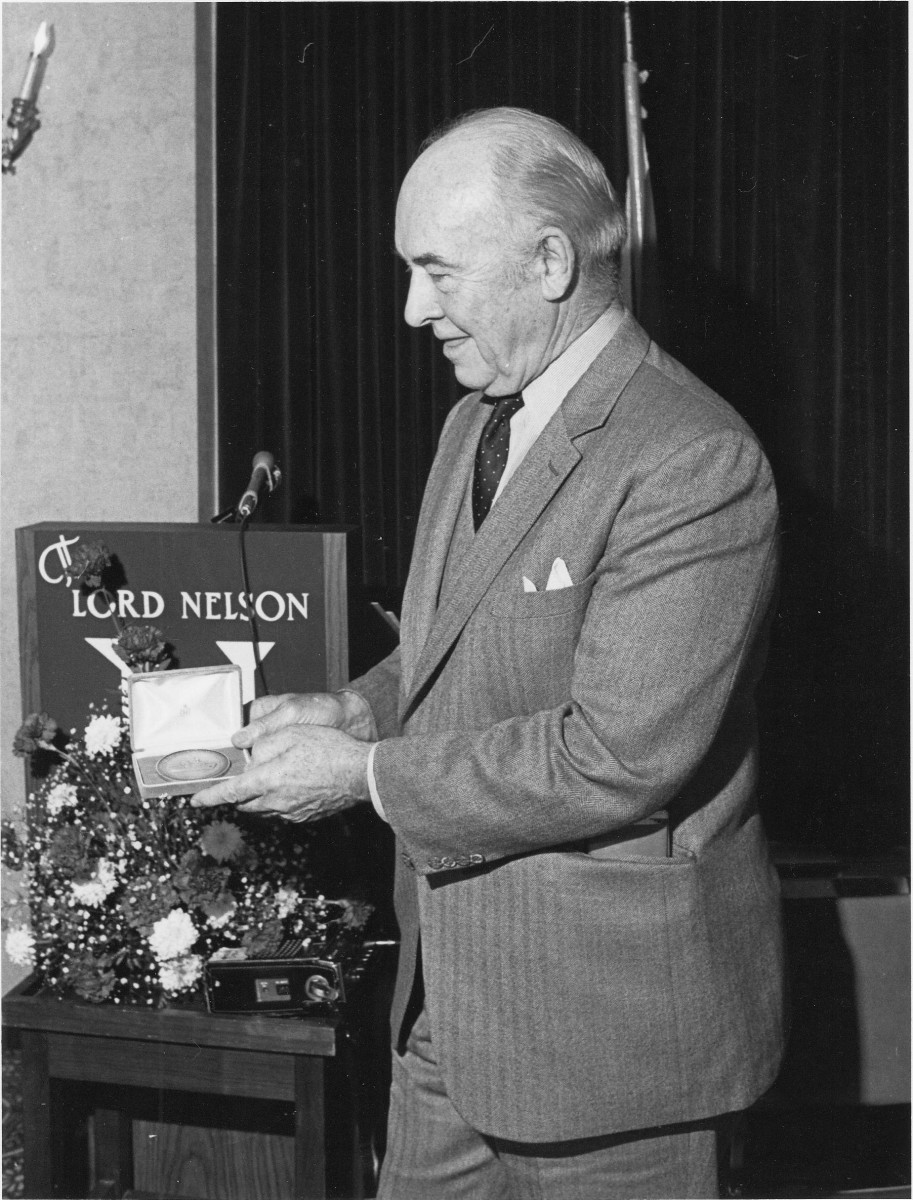 In 19 81, John Wilson received the Huntsman Award