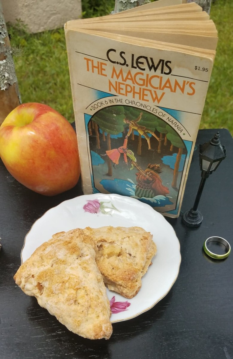 apple oat scones
