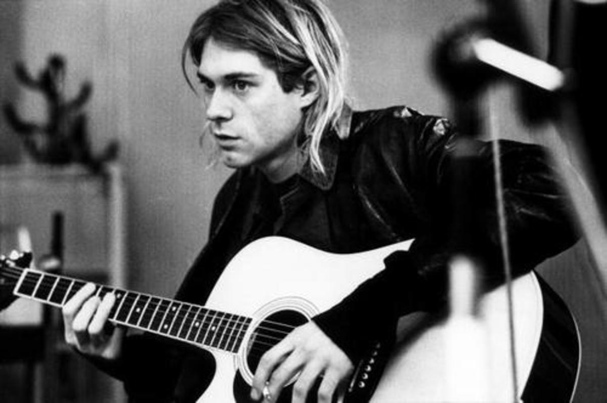 """Kurt Cobain's last words were """"It's better to burn out than to fade away."""""""