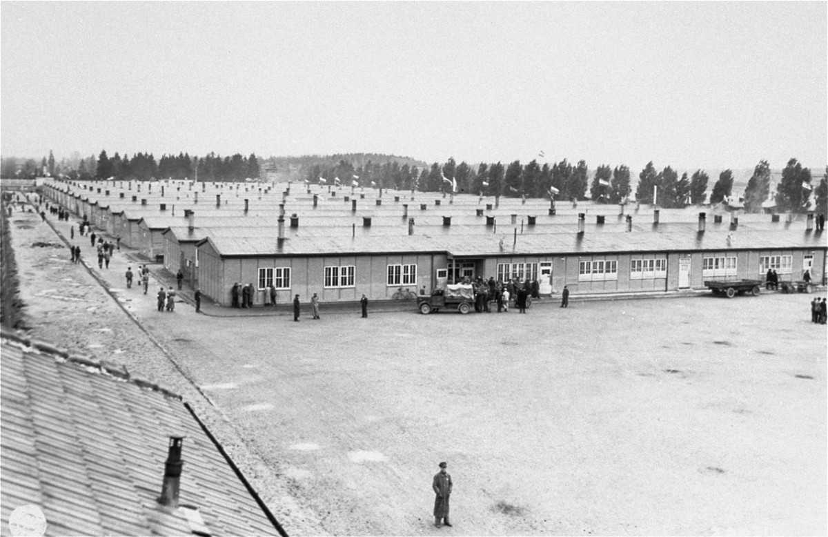 Dachau's liberation by American troops - April 29, 1945