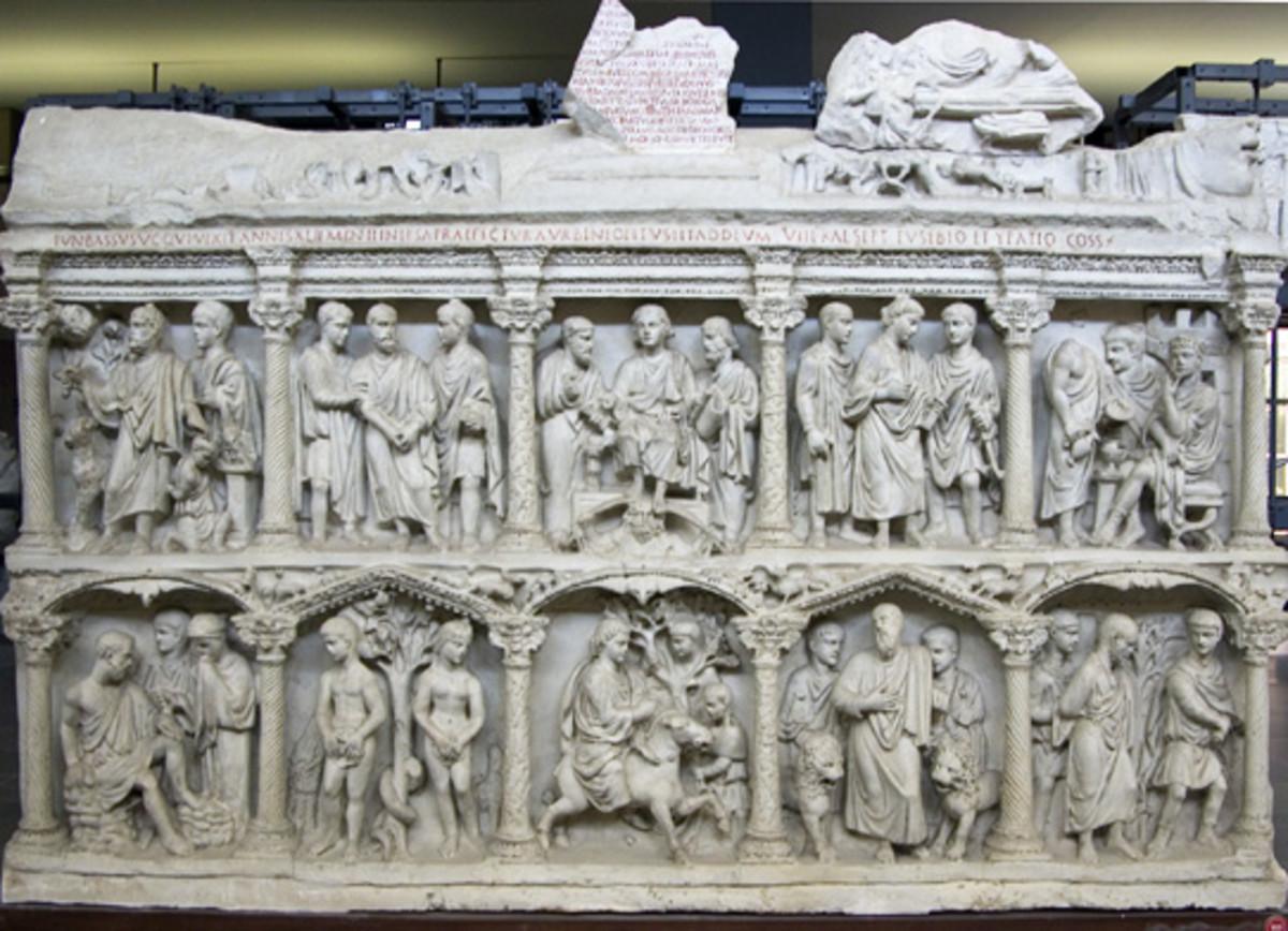 Sarcophagus of Junius Bassus, 359A.D.