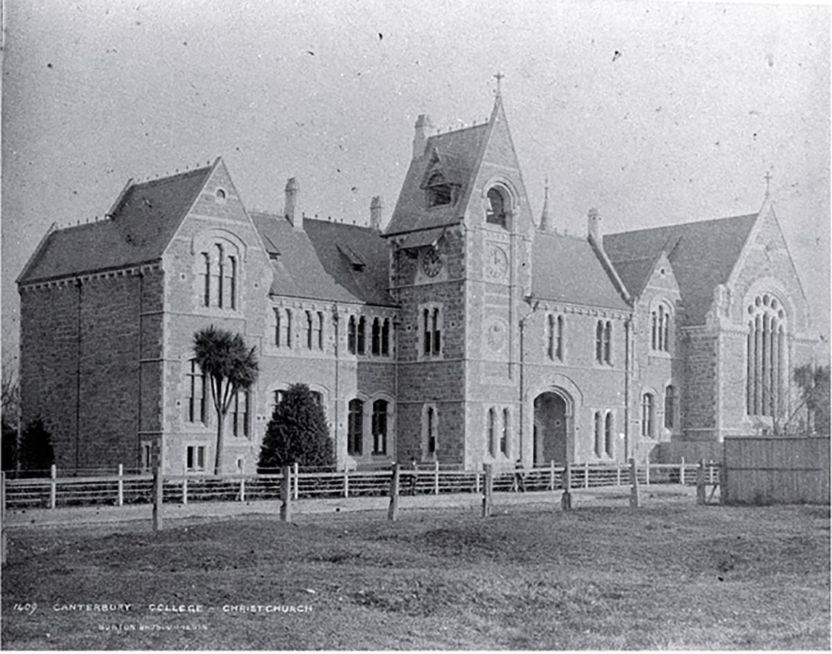 Canterbury College cira 1882