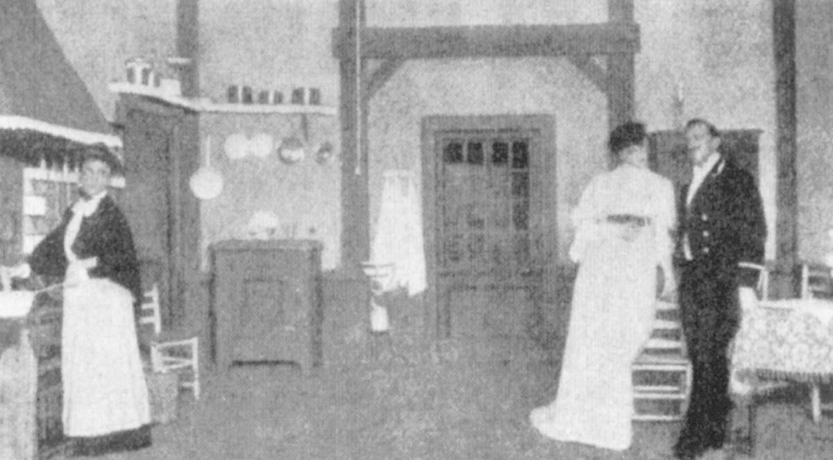 "First ""Miss Julie"" production, November 1906"