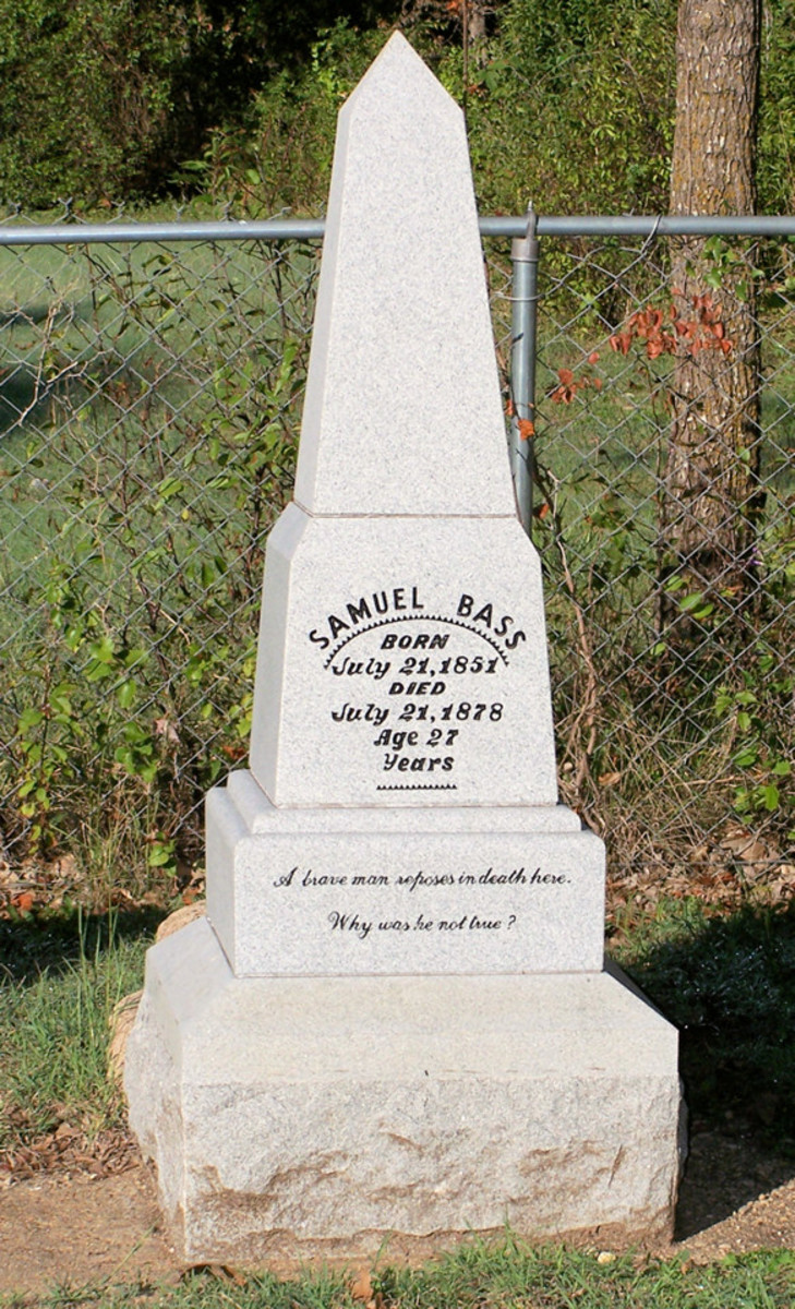 The Tombstone of Sam Bass