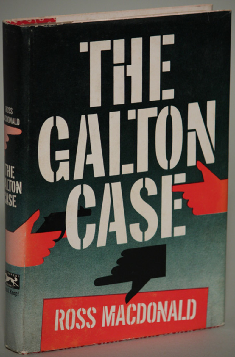 First Edition Cover of The Galton Case
