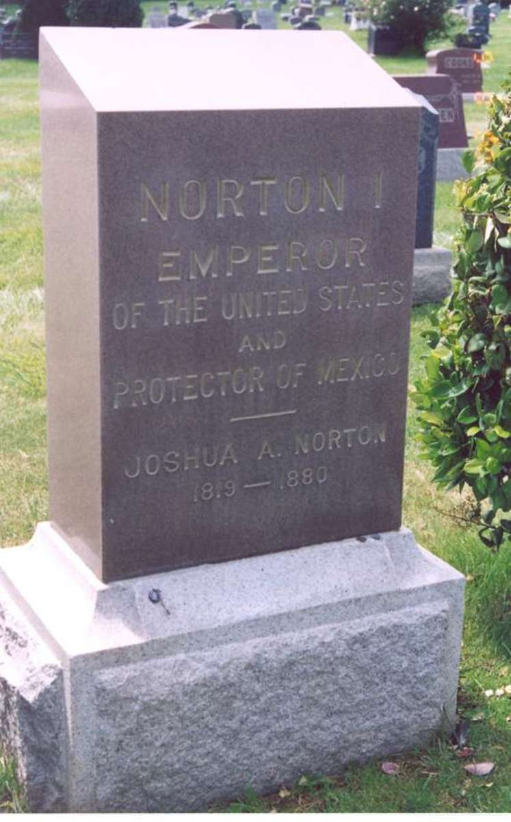 Emperor I grave marker