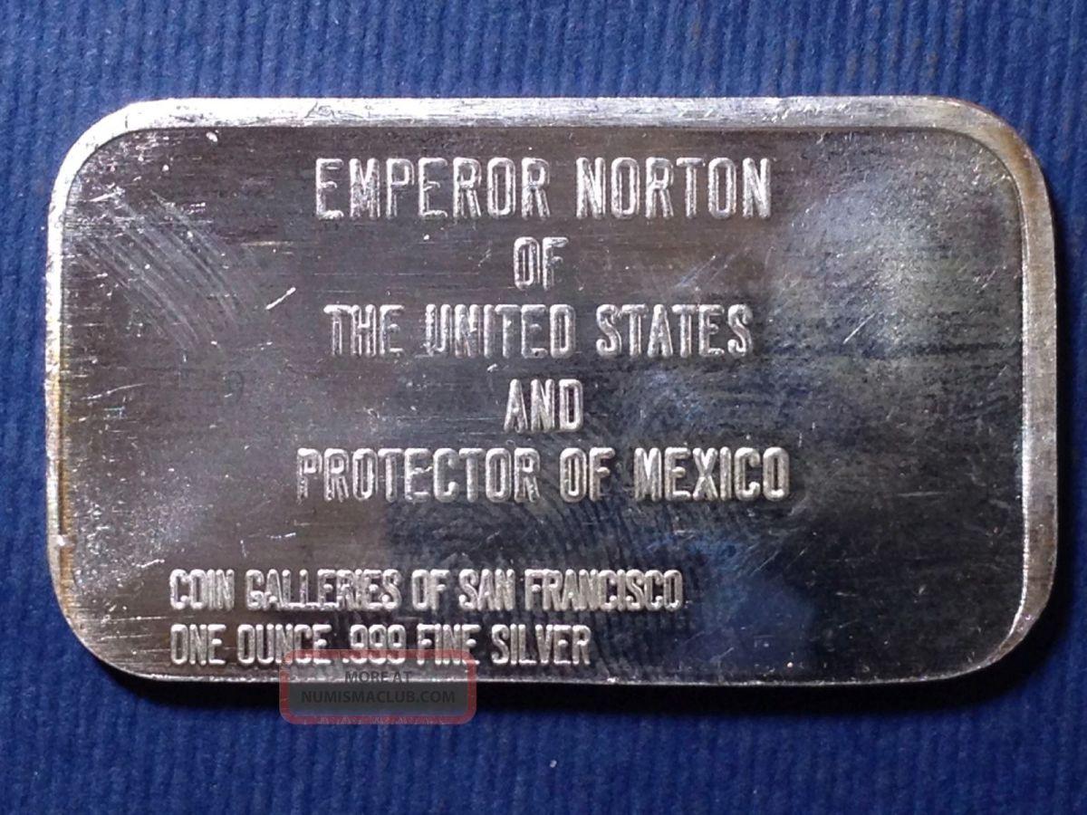 Emperor Norton I coin