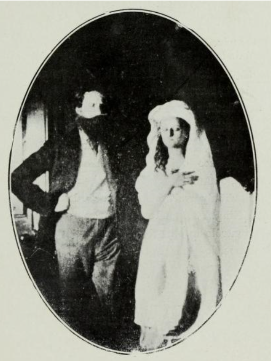 William Crookes and Katie King.
