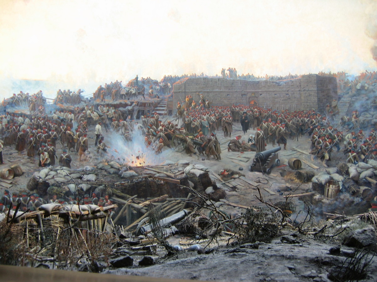 The Siege of Sebastopol in the Crimean War - the performance of the British army during the war would usher in reforms in the end of the 19th century