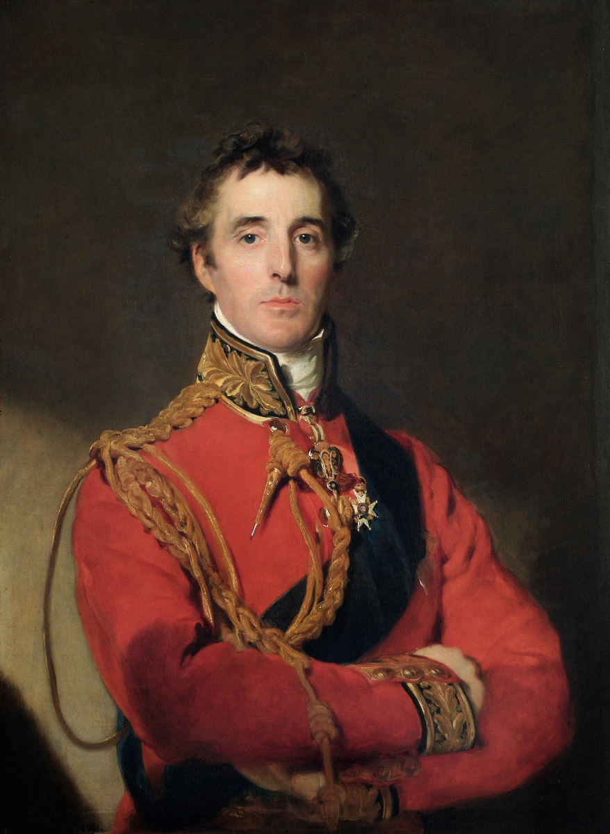 The Duke of Wellington, by Thomas Lawrence. Painted c. 1815–16, after the Battle of Waterloo.