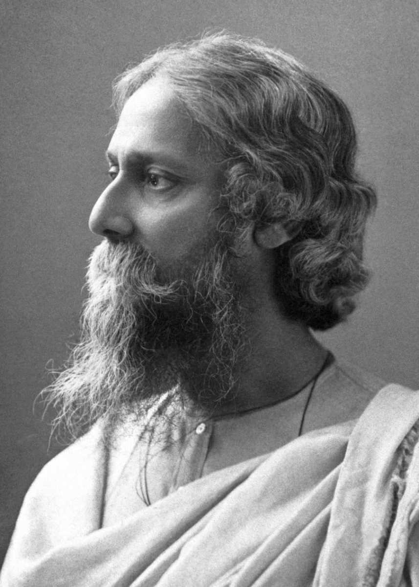 Winner of the Nobel Prize for literature, Tangore belonged to an influential stream of Indian thought which hailed the virtues of Indian spirituality and decried the excesses of Western materialism.